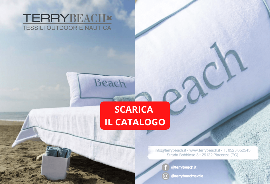 Tasto catalogo 2020 Terry Beach